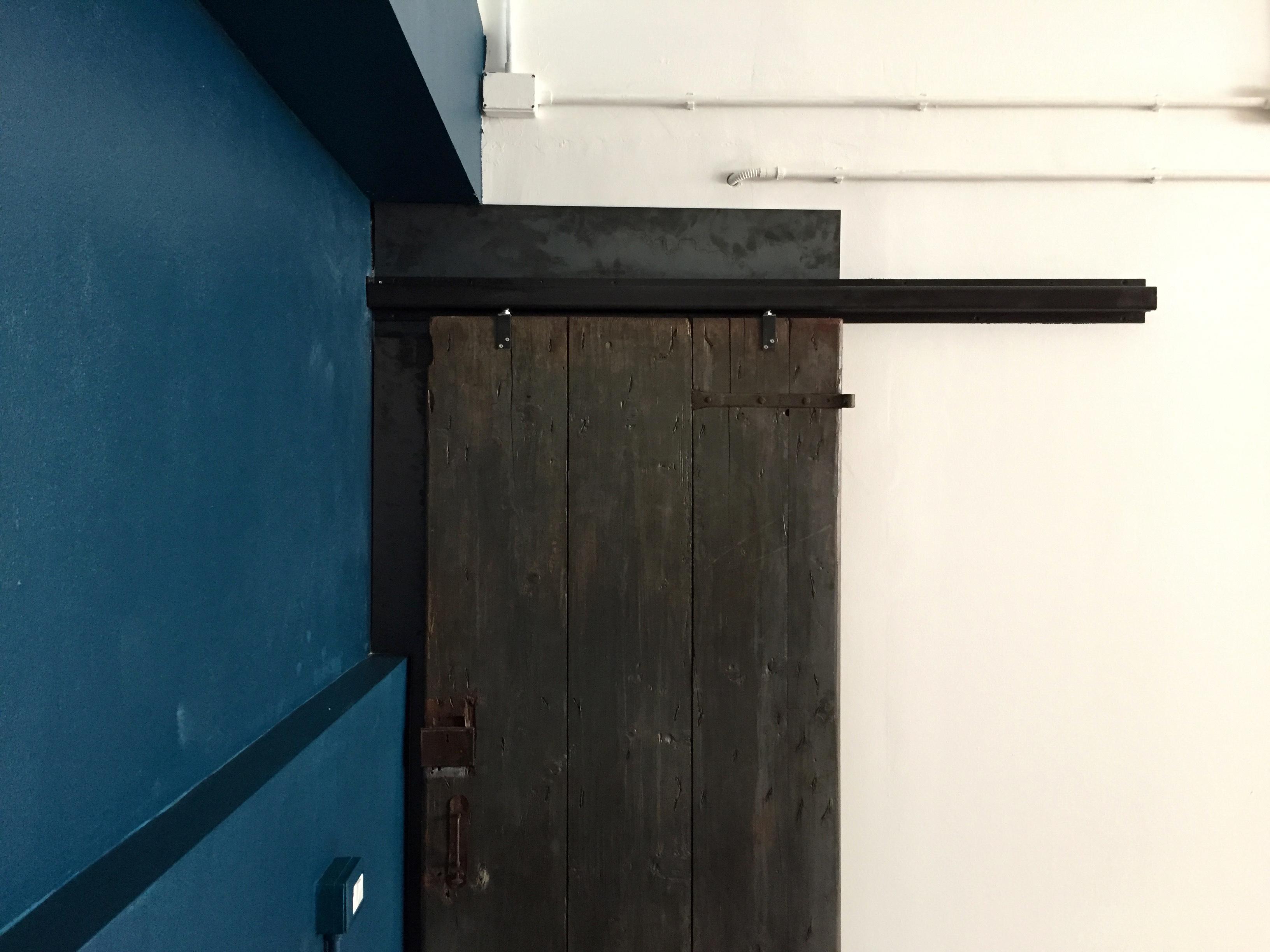 Porte Scorrevoli Stile Industriale porta scorrevole antica - martino1930 - officine d'interni